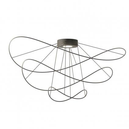 Axolight HOOPS ceiling 2 black CROPPED