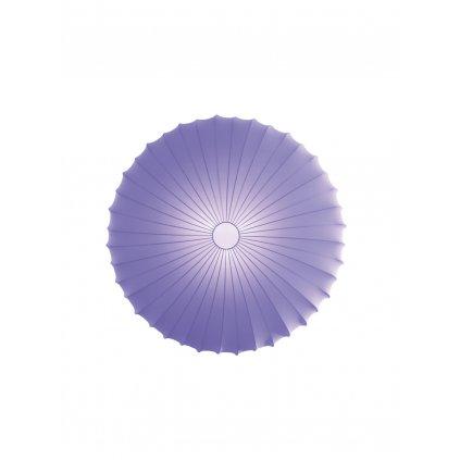 5697 5 axolight muse designove svitidlo z fialoveho textilu 3x70w prum 80cm