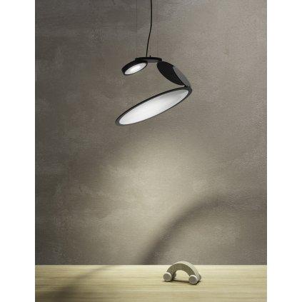 Axolight Cut, designové závěsné svítidlo, 18W LED 3000K stmívatelné, prům. 50cm