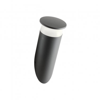 Redo Algon SMART, venkovní nástěnné svítidlo LED 6W RGB antracit, výška 27,5cm, IP65