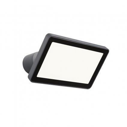 Redo Flux, venkovní nastavitelný reflektor LED 30W 3000K, antracit, šířka 23,5cm, IP65