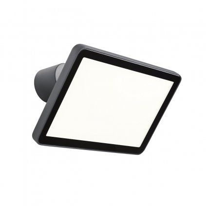 Redo Flux, venkovní nastavitelný reflektor LED 50W 3000K, antracit, šířka 30cm, IP65