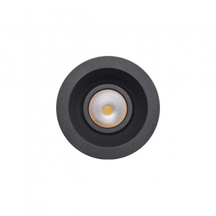 Redo Xeno, venkovní zápustné svítidlo LED 10W 4000K, antracit, průměr 11,5cm, IP65