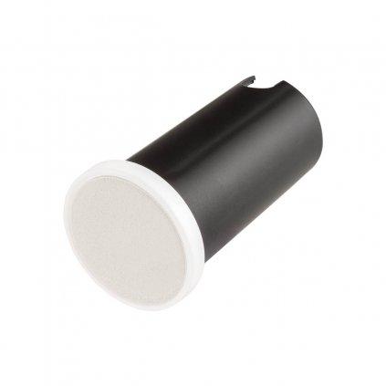Redo Xpi, venkovní zápustné orientační svítidlo LED 2,3W 3000K, bílá, průměr 5cm, IP54