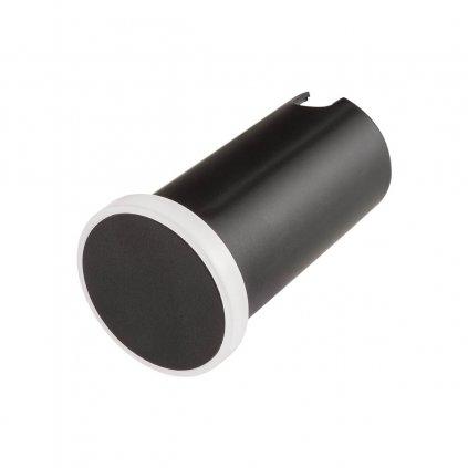 Redo Xpi, venkovní zápustné orientační svítidlo LED 2,3W 3000K, černá, průměr 5cm, IP54