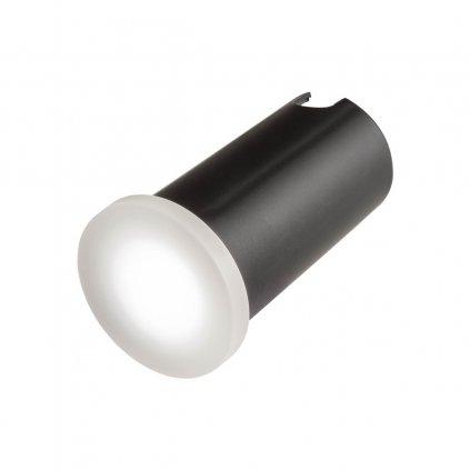Redo Xpi, venkovní zápustné orientační svítidlo LED 2,3W 3000K, opálová, průměr 5cm, IP54