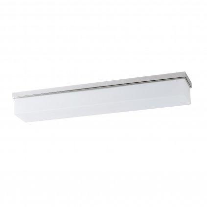 Osmont Sylvia D2, nástěnné svítidlo nad zrcadlo do koupelny s dekorativním límcem leštěná nerez, LED 21W 3000K, IP44, délka 62cm