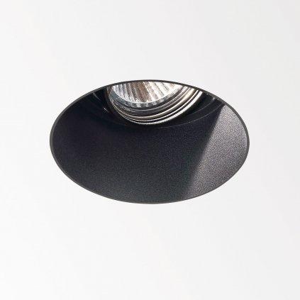 Deltalight Diro Trimless OK, bezrámečková bodovka, max. 50W, černá, prům. 8,1cm