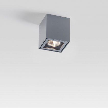 Deltalight Boxy +, venkovní stropní svítidlo, 1x35W, hliník, výška 9cm, IP44