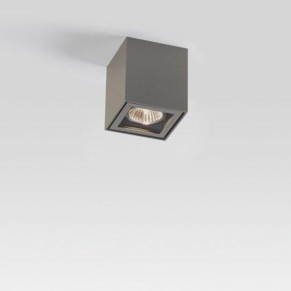 Deltalight Boxy +, venkovní stropní svítidlo, 1x35W, šedohnědá, výška 9cm, IP44