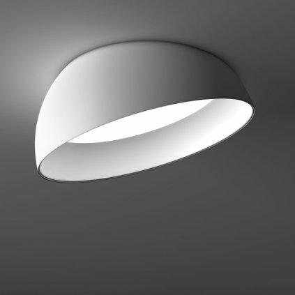 Deltalight Superdome, bílé zapuštěné svítidlo do stropu, 3x23W, průměr 116cm