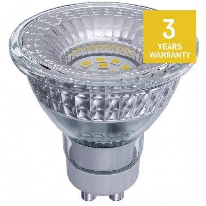 LED žárovka filament mléčná E27 6W, 806lm, náhrada za 60W, teplá bílá 2700K