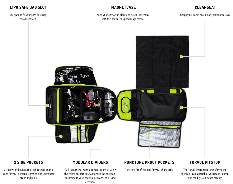 Torvol-Quad-Pitstop-Backpack-Pro-Open