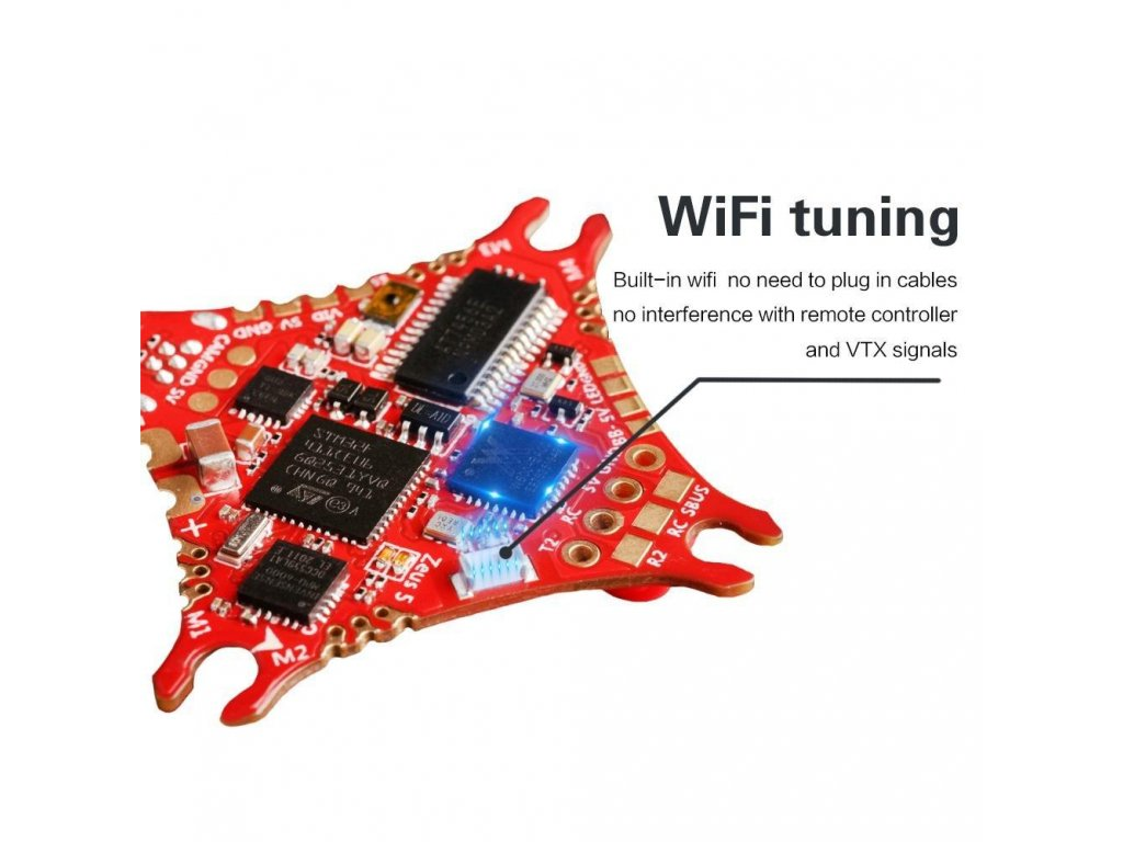 hglrc zeus5 aio 1 2s f411 flight controller 5a bl s 4in1 esc with wifi function 653731 1000x