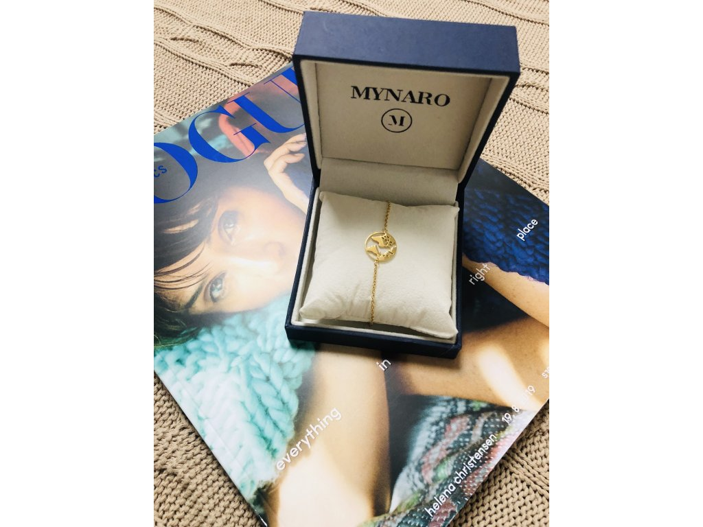 Náramek Mynaro Adventure Gold