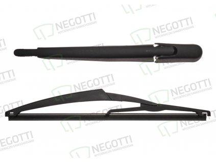 Zadný stierač s ramenom KRT201 290 mm