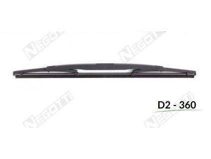Zadný stierač D2-360 (360 mm)