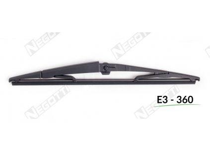 Zadný stierač E3-360 (360 mm)