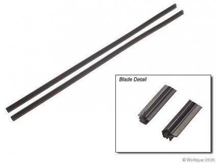 Gumičky stierača 600 mm