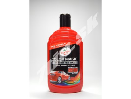 Turtle Wax Color magic plus Červený 500 ml