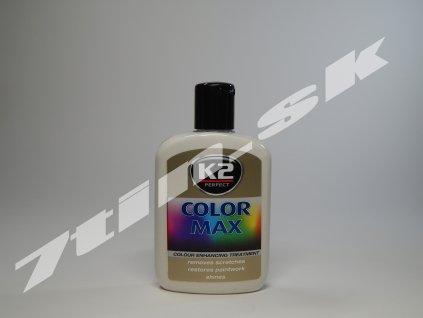 K2 Color max farebný vosk na lak (biely) 200 ml