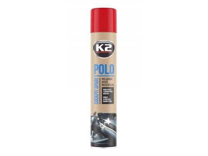 K2 Polo čistič palubnej dosky + handrička z mikrovlákna (čerešňa) 750 ml