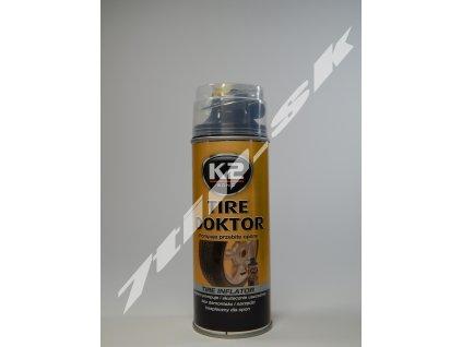 K2 Tire doktor utesňovač prepichnutých pneumatík 400 ml