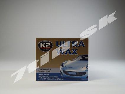 K2 Ultra wax vosková pasta + hubka 250 g