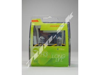 M tech Long life H3 PK22s 12V 55W duobox