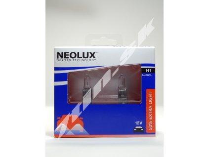 Neolux 50 % Extra light H1 12V N448EL duobox