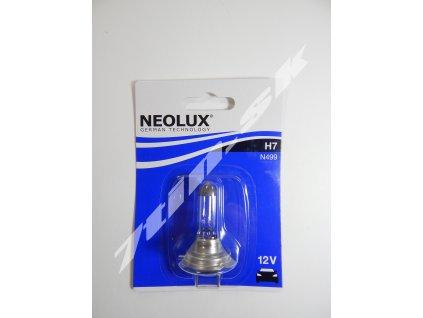 Neolux H7 PX26d 12V 55W N499