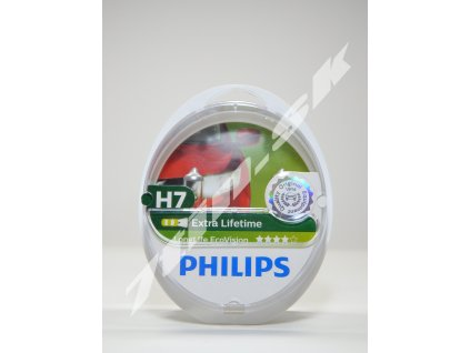 Philips LongLife EcoVision H7 PX26d 12V 55W duobox
