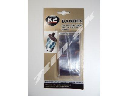 K2 Bandex Samolepiaca páska na opravu výfukov (5 cm x 1 m)