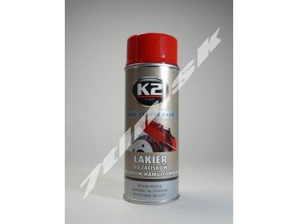 K2 Brake caliper paint Sprej na brzdové obloženie červený (400 ml)