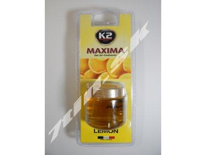 K2 Maxima Lemon Gélový osviežovač vzduchu (50 ml)