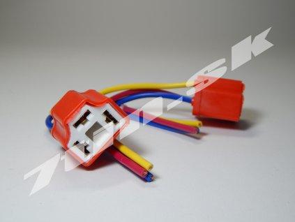 Keramické koncovky pre žiarovky H4