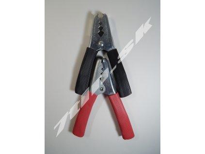 Kliešte pre štartovacie káble (kov + guma)