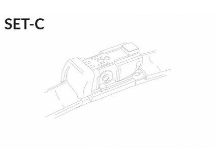 """SET C 28""""/28""""R 700 + 700 mm sada predných stieračov"""