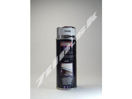 Troton Silver chrome acryl Krycí sprej 400 ml
