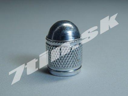 Čiapočka na ventil kovová lesklá