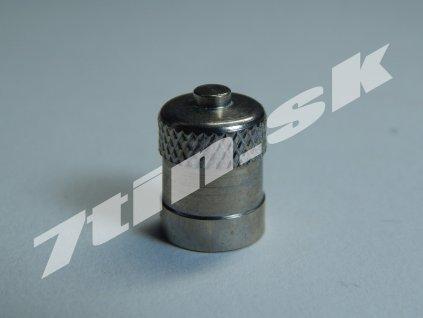 Čiapočka na ventil kovová nízka