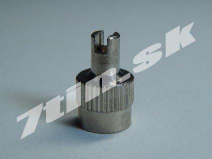 Čiapočka na ventil kovová vysoká