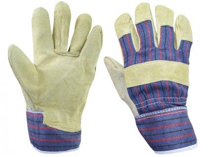 Kožené pracovné rukavice (XL)
