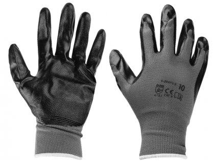 Carmotion Pracovné rukavice potiahnuté gumou (XL)