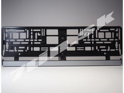 Držiak ŠPZ (čierny + sivý)1