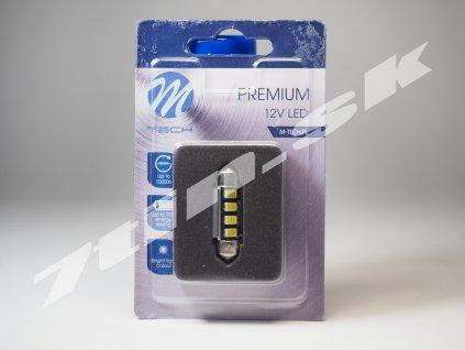 M tech Premium C5W 36mm, XLB334W 12V 4XLED Canbus