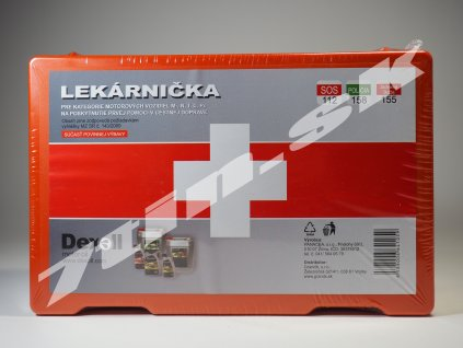 Panacea Autolekárnička 143 2009 (plastová, 25x16x8 cm)