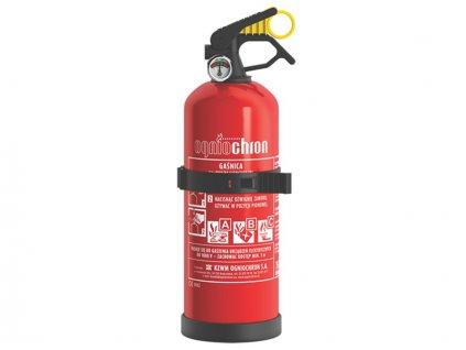 Práškový hasiaci prístroj s manometrom (PR1) 1 kg