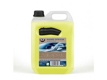 K2 Nano Letná zmes do ostrekovačov (citrón) 5 l