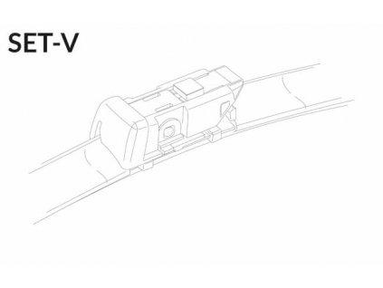 """SET V 26""""/23"""" 650 + 580 mm sada predných stieračov"""